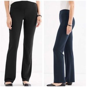 J. Jilll Wearever Smooth-Fit Barely Boot Cut Pant